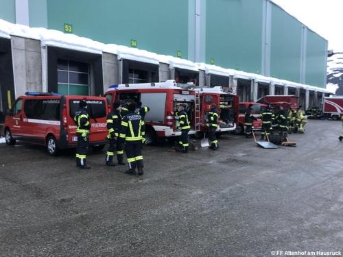 FF Altenhof 20190112081508 Assistenzeinsatz